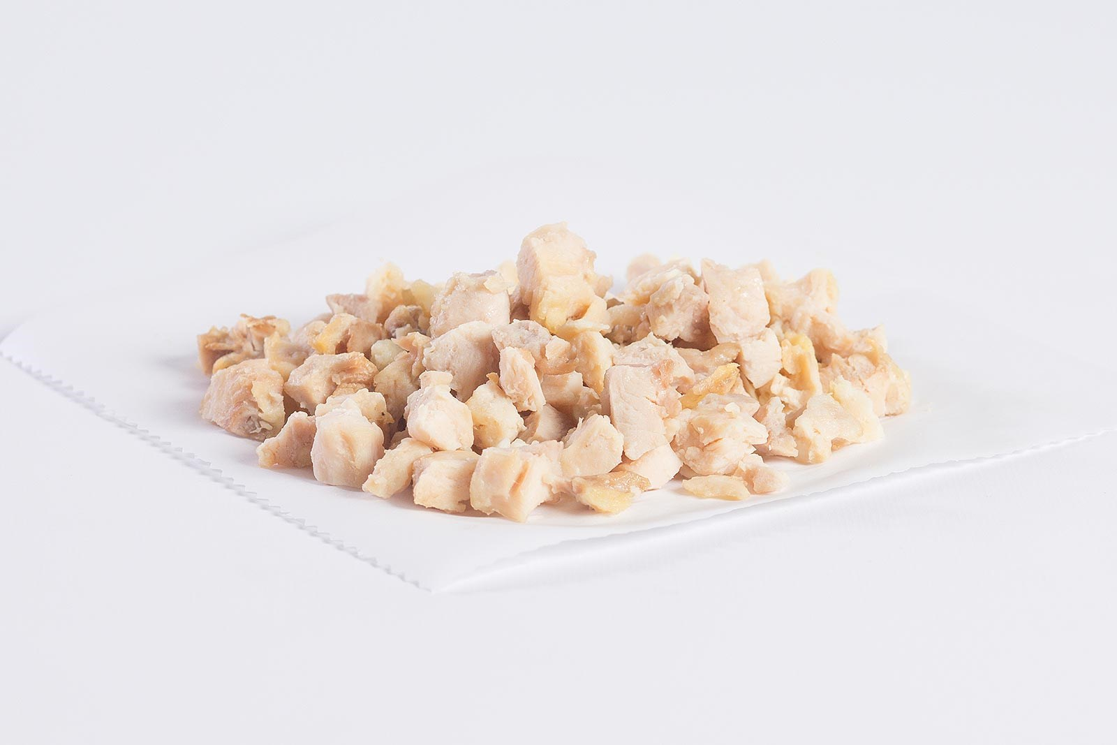 "1/2"" Diced Chicken Meat, Natural Proportion"