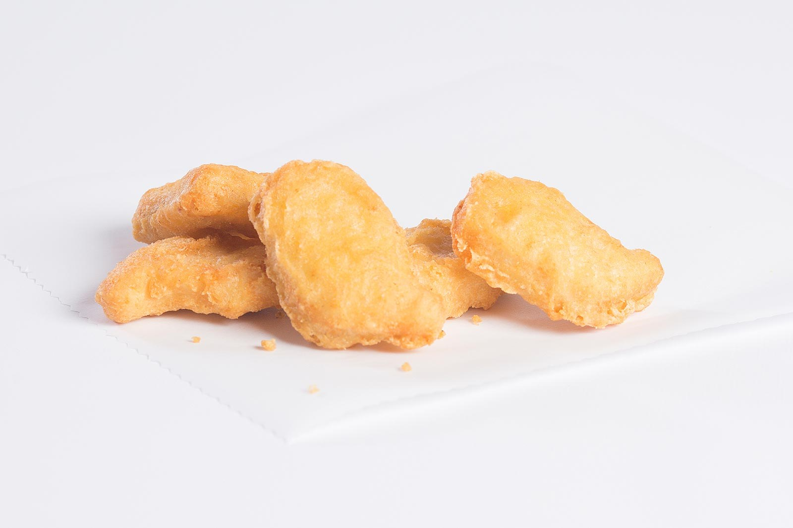 Tempura Battered Chicken Breast Nuggets