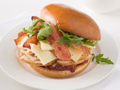 Chicken Bacon and Turkey Club image