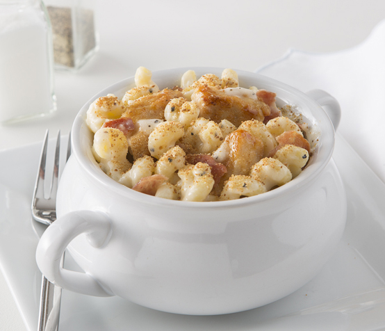 Chunky Chicken Mac and Cheese