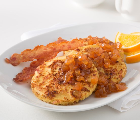 Chicken Bacon Apple Pancakes image