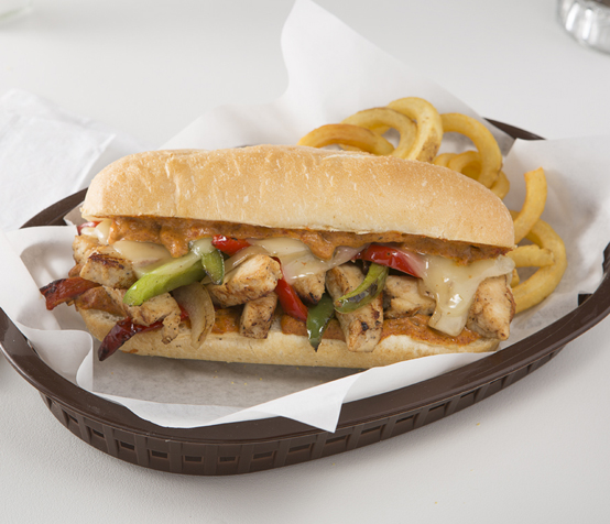 South of the Border Chicken Cheesesteak