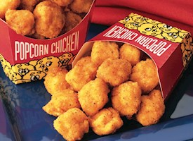 Spicy Breaded Popcorn Chicken