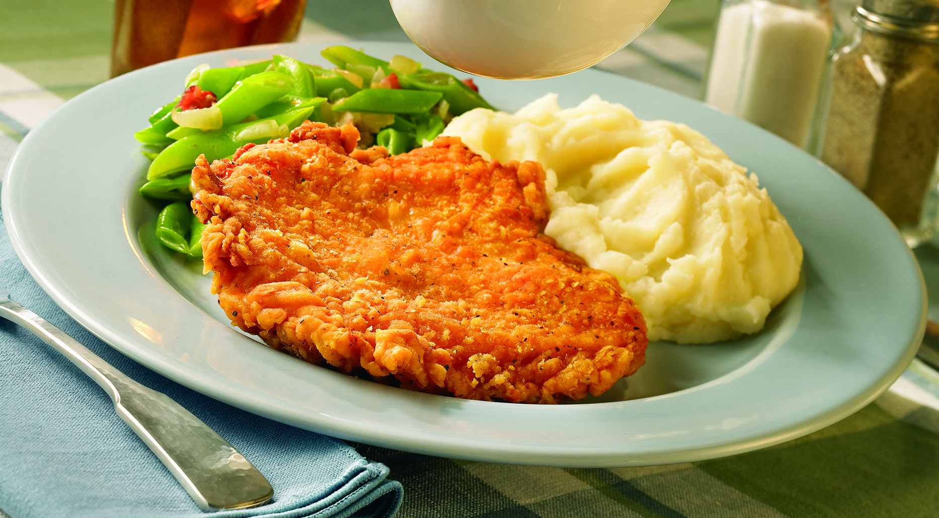 Breaded Breast Fillets, Fritter image